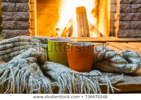coffe in winter Stock photo © Steevy84