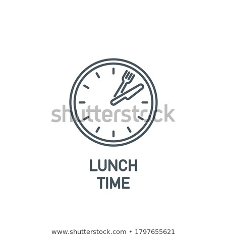 Lunchtime Stock photo © AlphaBaby