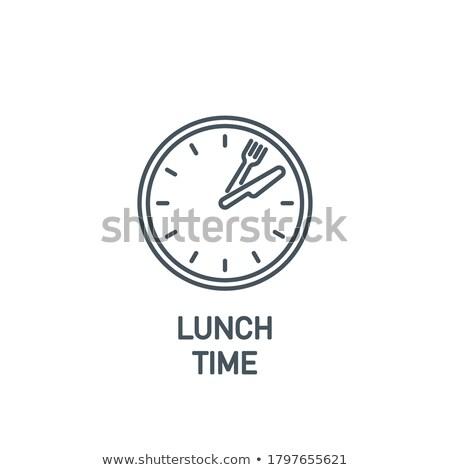 tempo · comer · negócio · comida · fundo · cozinha - foto stock © alphababy