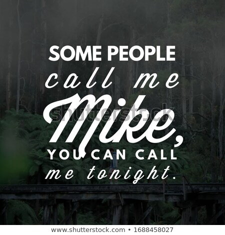Call me tonight Stock photo © Nobilior