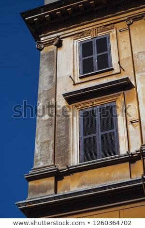 ストックフォト: コーナー · ローマ · 角度 · 現在 · 建物