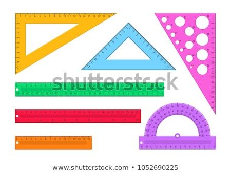 Governante conjunto buraco centímetro Foto stock © cteconsulting