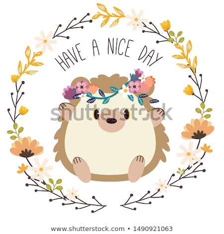 Cute spring flowers Stock photo © HypnoCreative