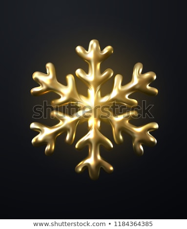 abstract · 3D · vector · sneeuwvlok · geïsoleerd · witte - stockfoto © tuulijumala