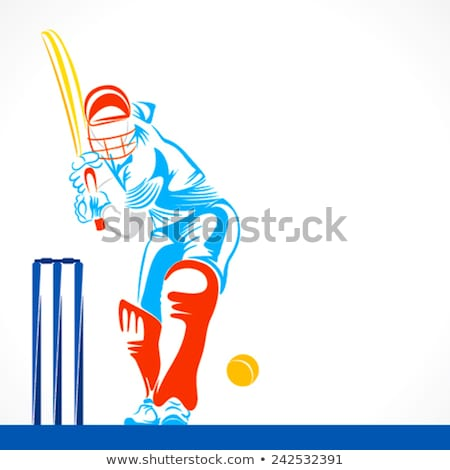 Prêt Homme raquette balle de tennis sport Photo stock © Fisher