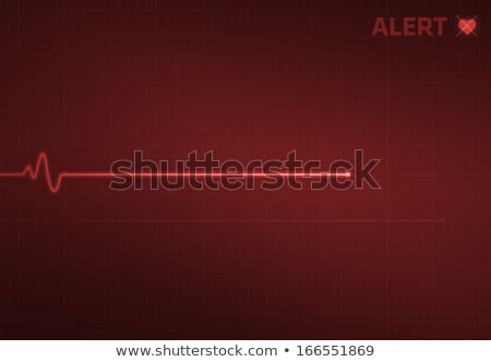 Heart pulse monitor with flatline  stock photo © Grafistart
