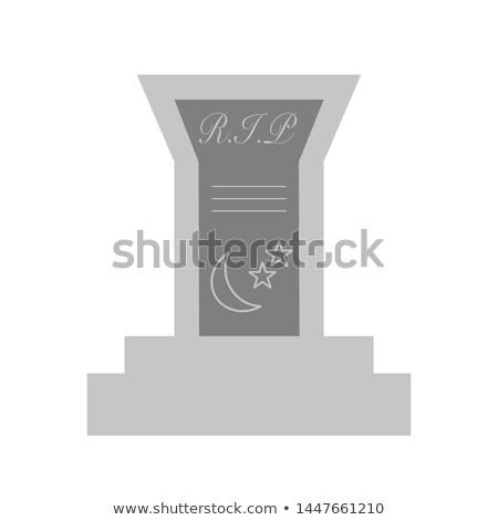 похороны · витраж · окна · отражение · цветок · стекла - Сток-фото © Undy