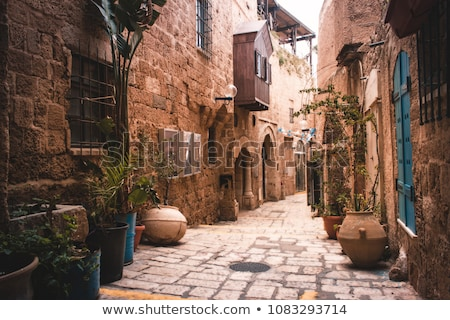 street in jaffa tel aviv israel Stock photo © travelphotography