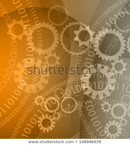 Magas tech választék üzlet alkalmazás brosúra Stock fotó © DavidArts