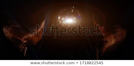 fortuneteller with glowing ball stock photo © andreypopov