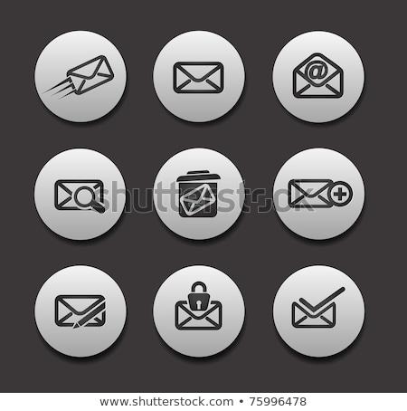 e-mail · Internet · dünya · teknoloji · posta · iletişim - stok fotoğraf © tilo