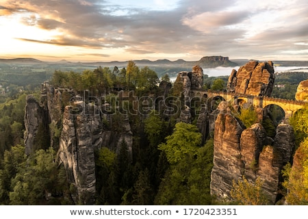Landscape Saxon Switzerland Stock photo © w20er
