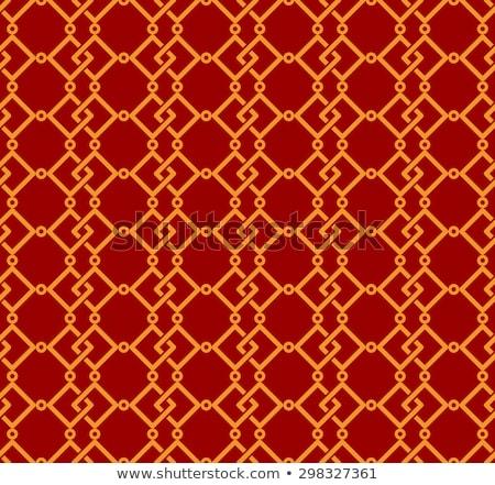seamless traditional auspicious chinese mesh pattern   Stock photo © creative_stock