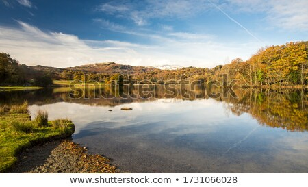 Eau lake district paysage été marche vacances Photo stock © andrewroland