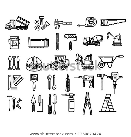 Construction Icons Set1.1 Stock photo © Voysla