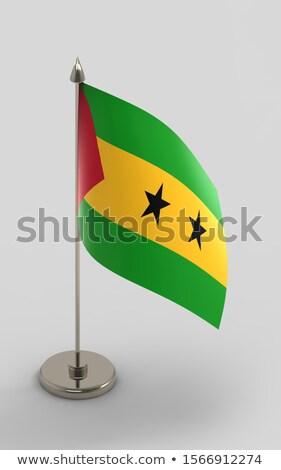 миниатюрный флаг изолированный бизнеса заседание Сток-фото © bosphorus