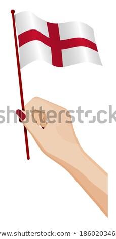 País de gales pequeno bandeira mapa foco publicidade Foto stock © tashatuvango