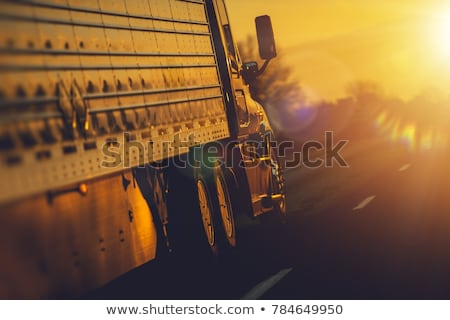 Stock photo: Long Hauling Truck on the Road