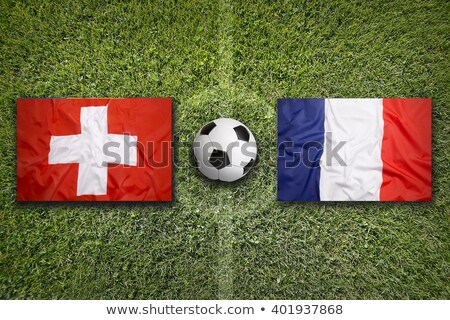Zwitserland vs Frankrijk groep fase wedstrijd Stockfoto © smocker03