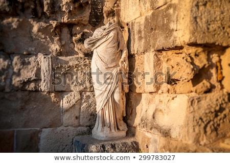 Ancient Roman theatre at Salamis Ruins. Famagusta district. Cyprus Stock photo © Kirill_M