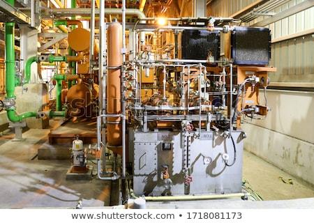 Tubi pompare filtrare olio stoccaggio acqua Foto d'archivio © ultrapro