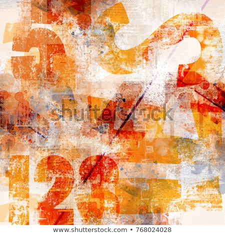 Grunge kunst stijl abstract digitale Stockfoto © Lizard