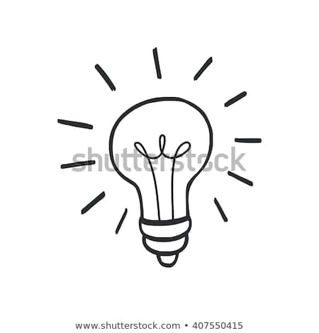 Doodling Light bulb  Stock photo © jaylopez