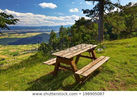 Alpine Picnic Area Stock photo © manfredxy