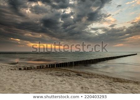 バルト海 · 海岸 · 写真 · 海岸 · ビーチ · 空 - ストックフォト © meinzahn