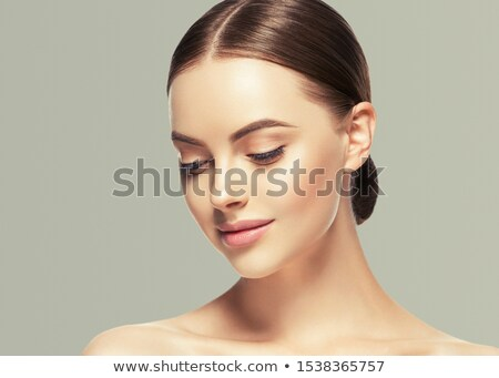 pretty model on isolated background  stock photo © Dave_pot