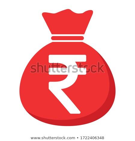 Stock fotó: Táska · ikonok · illusztráció · terv · szett · pénz