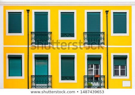 Edifícios Lisboa histórico Portugal casa rua Foto stock © elxeneize