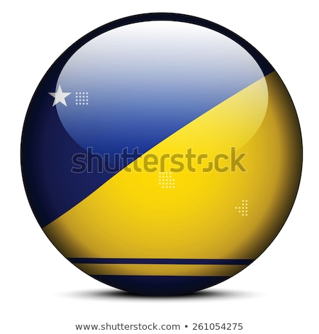 map with dot pattern on flag button of tokelau stock photo © istanbul2009
