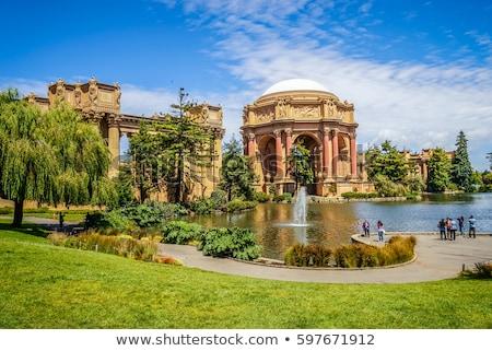 Palacio artes San Francisco California noche agua Foto stock © AndreyKr