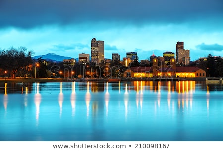 downtown denver colorado at the morning stock photo © andreykr