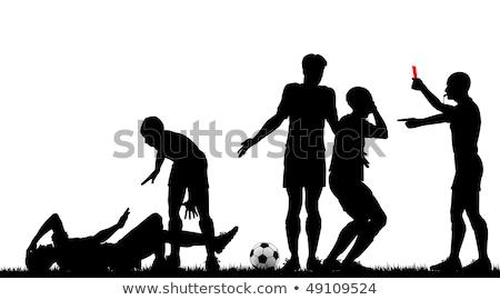 Hakem beyaz futbol Stok fotoğraf © wavebreak_media