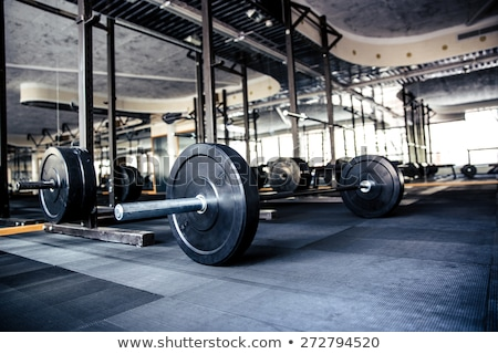 Closeup image of gym interior Stock photo © deandrobot
