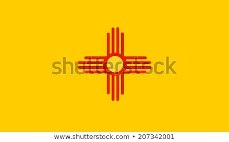 US state flag of New Mexico  Stock photo © creisinger