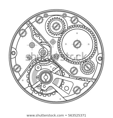vintage mechanical watch stock photo © oleksandro