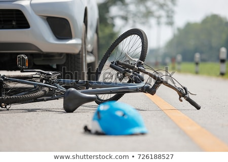 Bicycle accident Stock photo © wellphoto