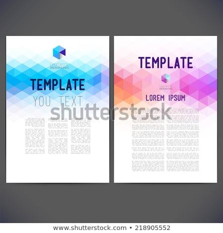 Stock fotó: Mozaik · absztrakt · hátterek · vektor · formátum · textúra