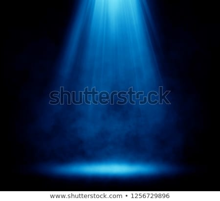 blue spotlights background stock photo © derocz