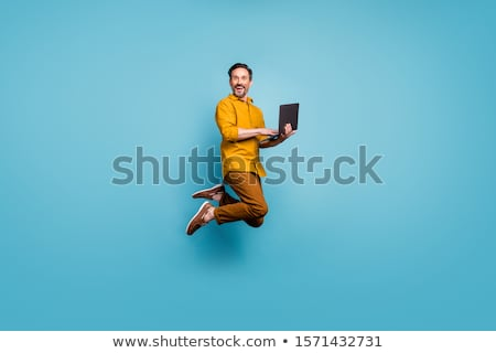 facet · kolory · młodych · nice · człowiek - zdjęcia stock © Andriy-Solovyov