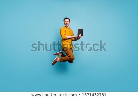 Cara cores jovem bom homem monte Foto stock © Andriy-Solovyov