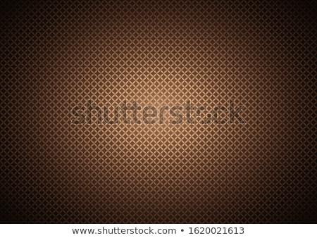 抽象的な グリッド チョコレート 表面 海 ネットワーク ストックフォト © m_pavlov