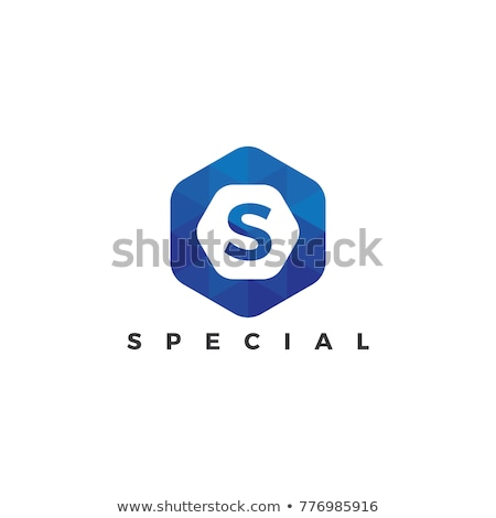 Logo business brief kunst corporate zwarte Stockfoto © shawlinmohd