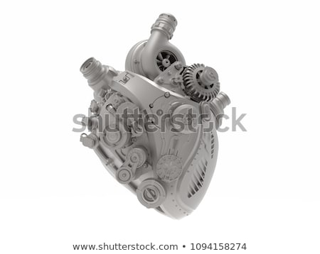 Mechanical Heart stock photo © aleishaknight