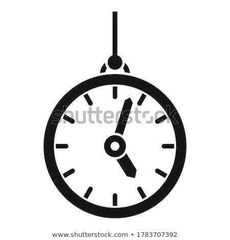 Foto d'archivio: Antichi · clock · tempo · retro · colore · vettore