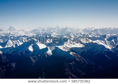 View aeromobili montagna himalaya bella cinese Foto d'archivio © meinzahn