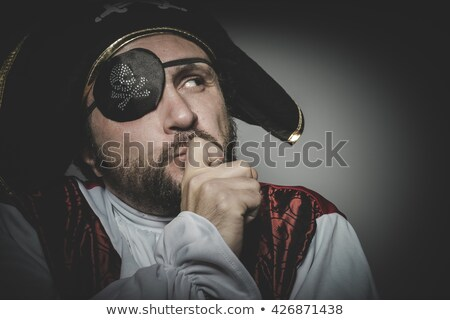 Pirate thoughts  Stock photo © bonathos
